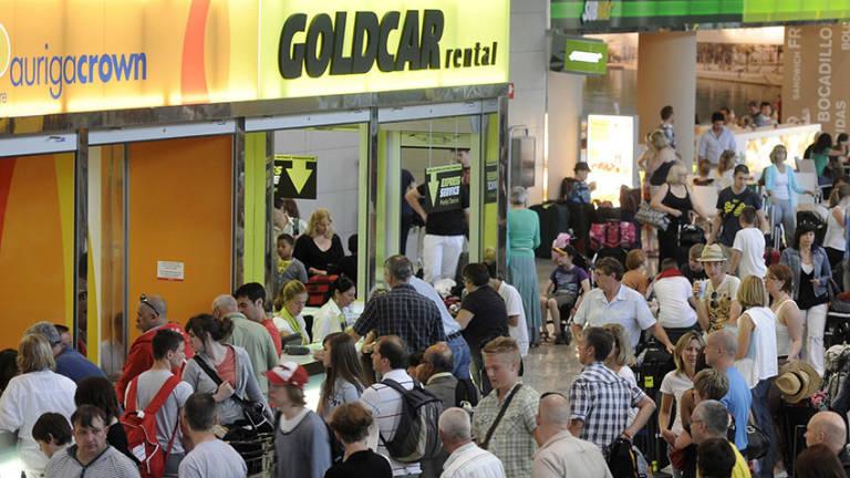Goldcar factura un 1 75 menos al tener que bajar los for Oficinas goldcar