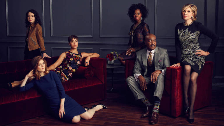 El elenco protagonista de The good fight