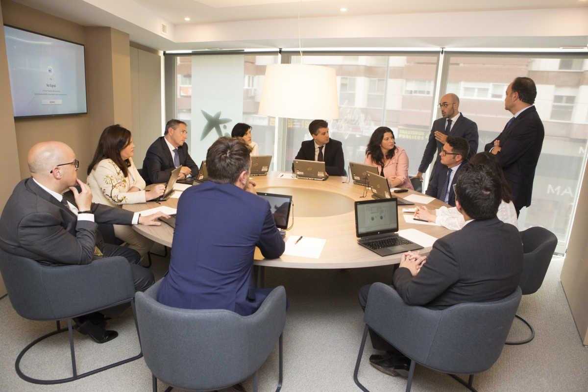 caixabank inaugura su nuevo centro de banca privada que