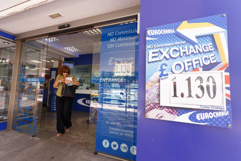 Eurochange las oficinas de cambio de libra que siguen - Oficinas de cambio de moneda ...