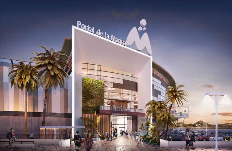El centro comercial portal de la marina de ondara conf a - Centre comercial la illa ...