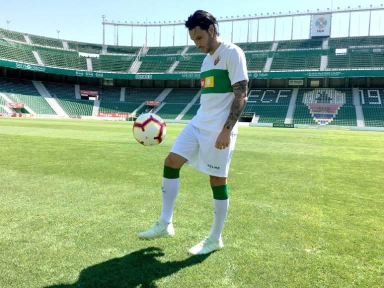 """Juan Cruz: """"Fichar por el Elche es un paso importante en mi ..."""