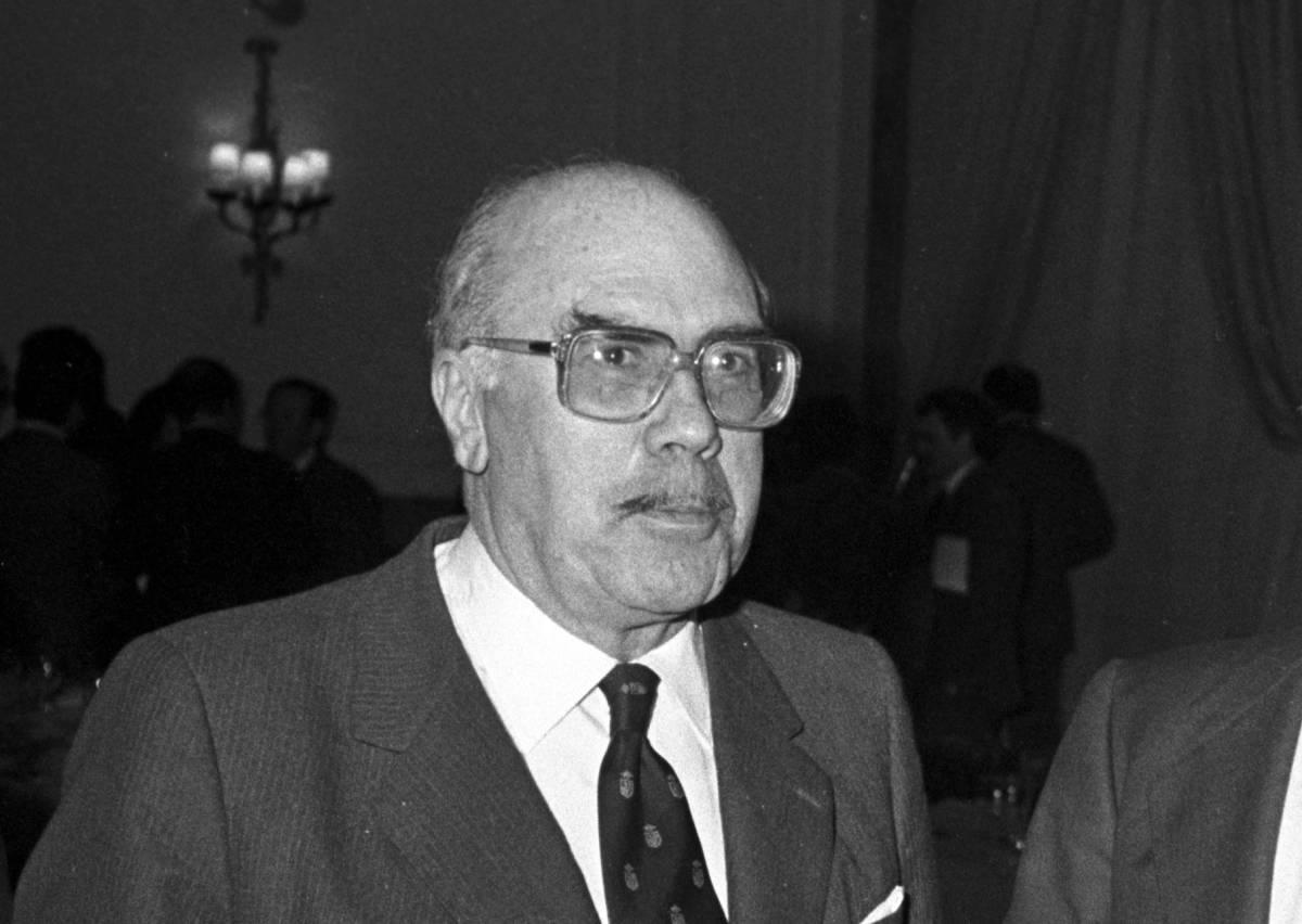José Luis Cerón Ayuso, expresidente de Aumar, en 1984. Foto: EFE