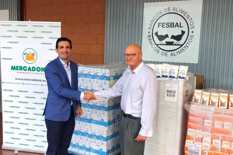 Mercadona entrega 12.800 kilos de azúcar, leche y harina al Banco de ...