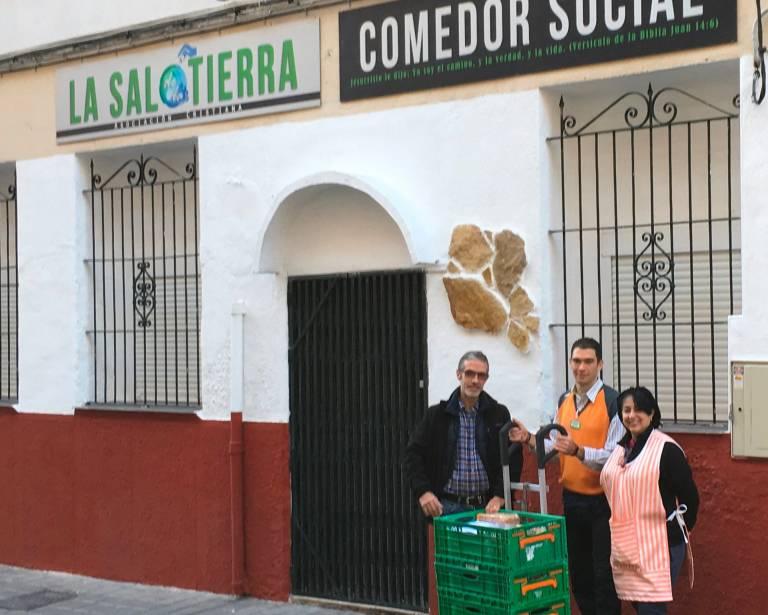 Mercadona empieza a colaborar con el comedor social \'La Sal de la ...