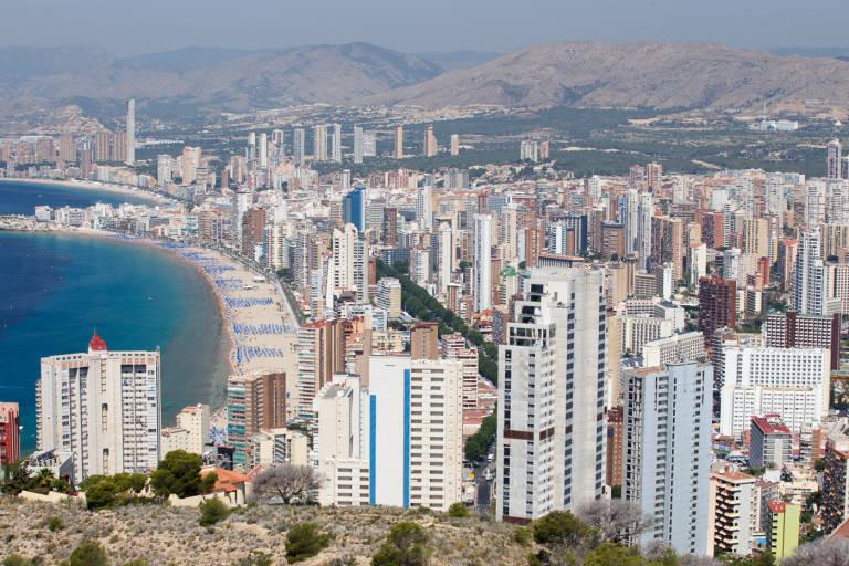 La Audiencia Nacional declara legal el deslinde de Benidorm que afecta a unas 3.000 viviendas
