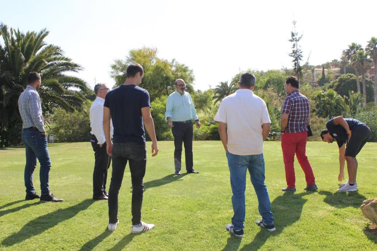 Actividades en el Club de Golf Bonalba. AP