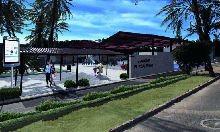 Proyecto de cubierta solar en El Realengo, de la comunidad energética Comptem. Foto: ENERCOOP