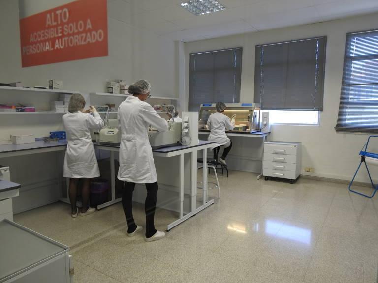 El laboratorio Genetic PCR Solutions, en una imagen de archivo. Foto: AP