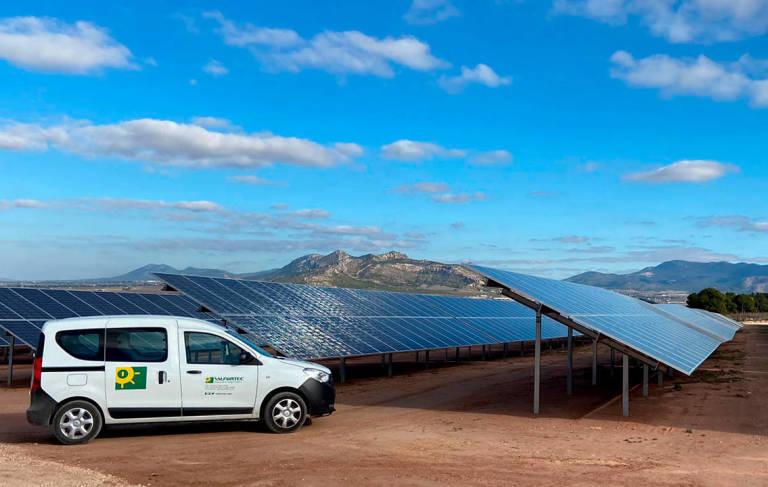Planta fotovoltaica de Valfortec en Villena