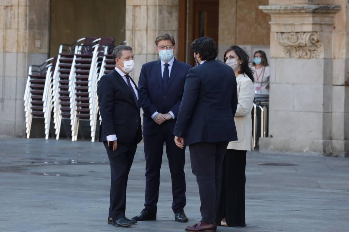 Puig junto a otros líderes autonómicos. Foto: GVA