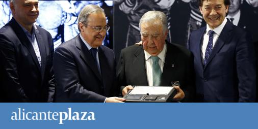 El Real Madrid reconoce a Ferrándiz como Socio de Honor por ser