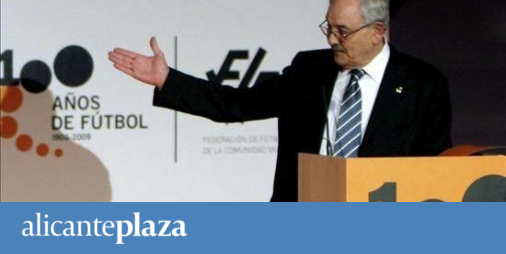 La agencia del presidente de la federaci n valenciana de for Federacion valenciana de futbol