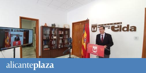 Elda activa un plan de impulso económico y social de 2,2 millones de euros